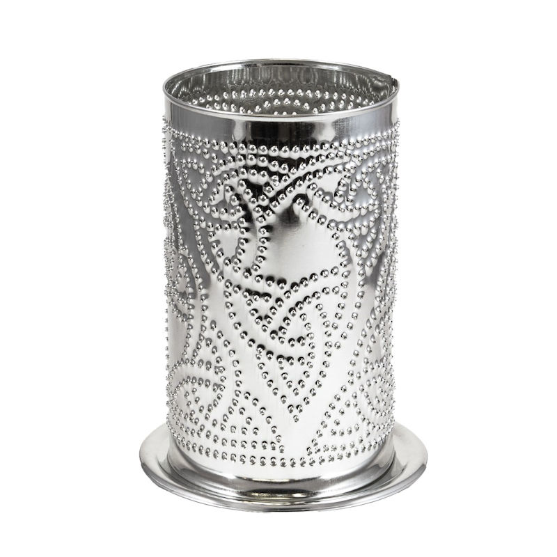 tin candle shade - celtic knot